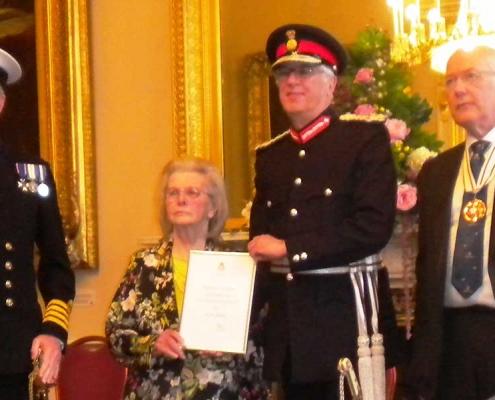 Iris's Medal Ceremony