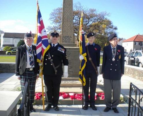 War Memorial Dedication Service